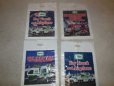 Hess Toy Bags!! Group Of Four Bags All For One Bid!!!!!!!!!!!!!