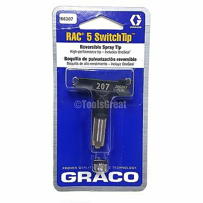 Graco Rac 5 286207 Switch Tip Paint Spray Tip Size 207