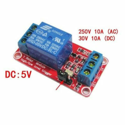 FOR Arduino uno R3 5V 1 High low isolation level channel trigger Relay module