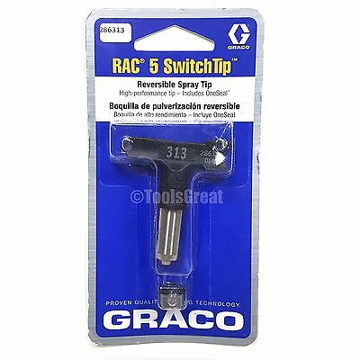 Graco Rac 5 286313 Switch Tip Paint Spray Tip Size 313