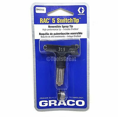 Graco Rac 5 286315 Switch Tip Paint Spray Tip Size 315