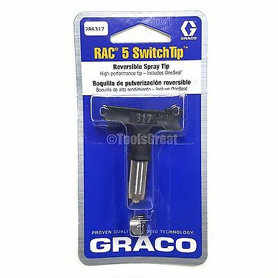 Graco Rac 5 286317 Switch Tip Paint Spray Tip Size 317