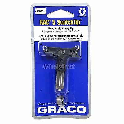 Graco Rac 5 286319 Switch Tip Paint Spray Tip Size 319
