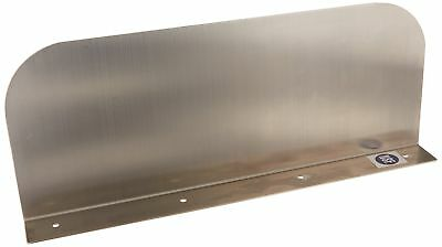 Drop Mount Stainless Steel Splash Guard 15''x6'' for Drop in Hand Sink ETL