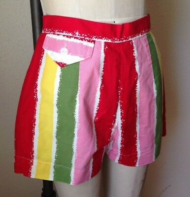 vintage 1950s high waisted shorts