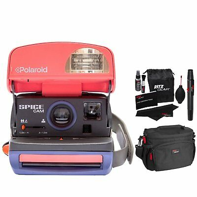 Impossible Polaroid 600 Spice Camera with Camera Bag (Certified Refurbished)
