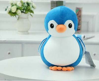 NEW Cute Penguin Plush Toy Kid Stuffed Animal Doll Pillow Cushion Decor Gift 8""