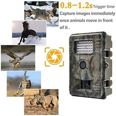 Hunting Camera Trail Game 12MP 1080P HD Infrared Night Vision Low Glow Cameras