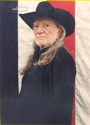 "Willie Nelson, Country Music Star in 2014 Magazine Print Clipping, ""Legends"""