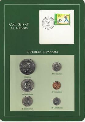 Coin Sets of All Nations - Panama