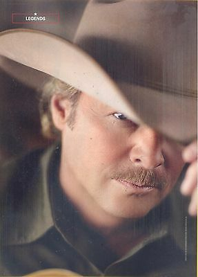 "Alan Jackson, Country Music Star in 2014 Magazine Print Clipping, ""Legends"""
