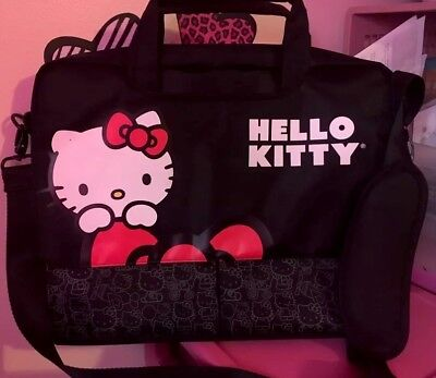 Hello Kitty Laptop Carry Bag+free gift
