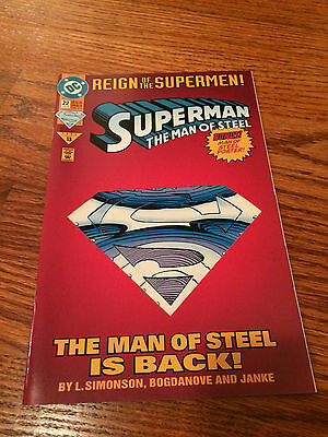 Superman Action Comic Books - Reign of the Supermen - DC Comics - 4 Issues