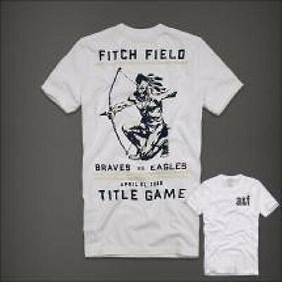 Abercrombie and fitch archer logo design men 39 s t shirt for Abercrombie logo t shirt