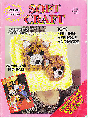 Soft Craft Toys knitting applique - 28 projects - patterns
