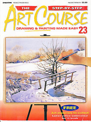 Step-by-step Art Course - drawing & painting made easy - part 23