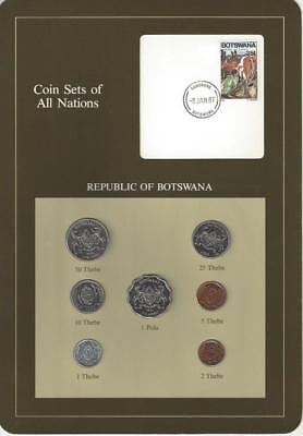 Coin Sets of All Nations - Botswana