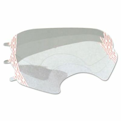 3M 6000 Series Full-Facepiece Respirator-Mask Faceshield Cover, Clear - MMM6885