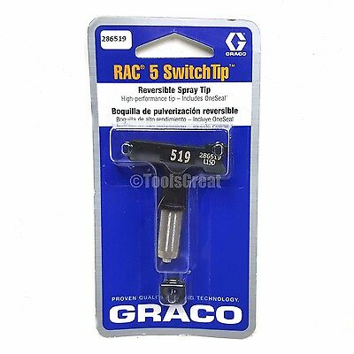 Graco Rac 5 286519 Switch Tip Paint Spray Tip Size 519