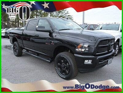 2017 Ram 2500 Big Horn 2017 Ram 2500 Big Horn New Turbo 6.7L I6 24V Automatic 4WD Pickup Truck