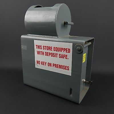 Commercial Store Deposit Safe w/ Rotating Money Drop. Comes with Key & Lag Bolts