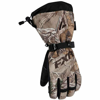 """Fxr """"fuel Realtree Xtra"""" Gloves Snowmobile Mens - Choose Size - Sale!"""