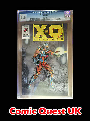 X-O Manowar #1 CGC 9.6 Graded ⭐️ 1st First X-O Manowar ⭐️ Valiant