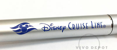 Collectible Silver Disney Cruise Line Pen - Blue Ink