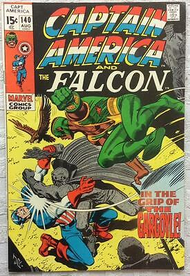 Captain America #140 (1st series) 1971 Marvel classic. FN/VF condition.