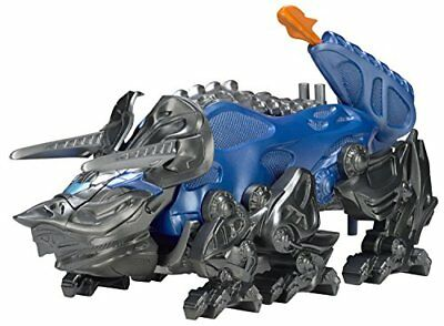Power Rangers 42562 Movie Triceratops Battle Zord with Blue Ranger