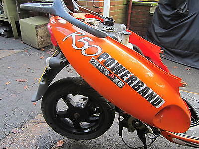 Superbyke Powerband 2 Stroke R50 2009-15 Chinese Scooter Rear Left Side Panel