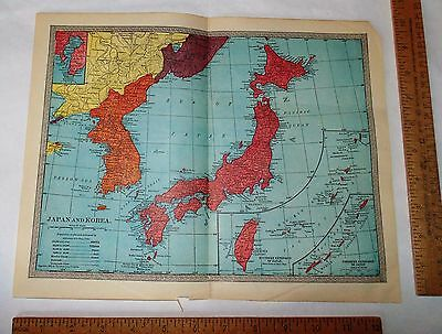 2 MAPS - JAPAN AND KOREA - and - VIETNAM, CAMBODIA, LAOS AND EASTER THAILAND