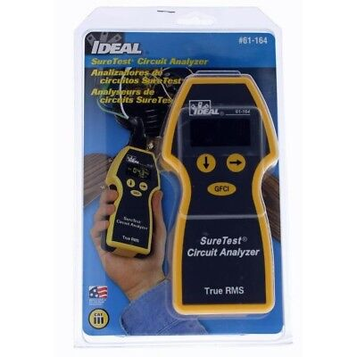 IDEAL # 61-164 Sure Test Circuit Analyzer