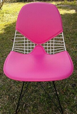 New Eames style 2 piece bikini pad wider for wire chairs + colors available