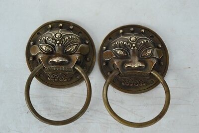 New Antique Lion Head Door Knocker Antique Bronze Gift Classical Home Decor