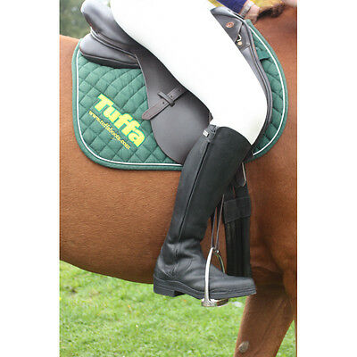 Tuffa Derby Long Riding Boots Black Horse Pony In Std/long/wide/narrow Fit