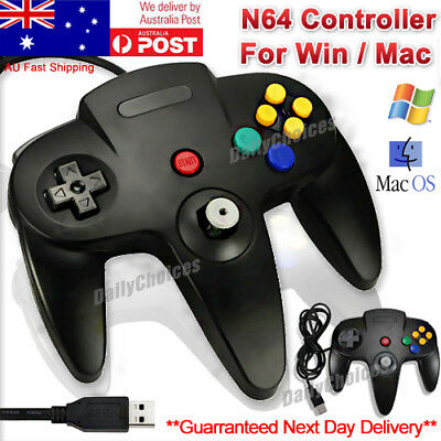 Nintendo 64 N64 Games Classic Gamepad Controllers For Usb To Pc/mac