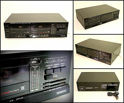 KENWOOD KX-57CW Stereo Double Cassette Deck