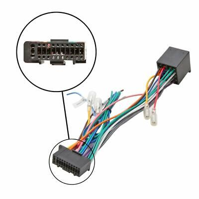 PIONEER CAR RADIO 16 PIN ISO Wiring Harness DEH Connector Adapter ...