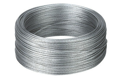 Corral Stranded Wire Galvanised 200 Metres Livestock Equine Fencing Horse Cattle