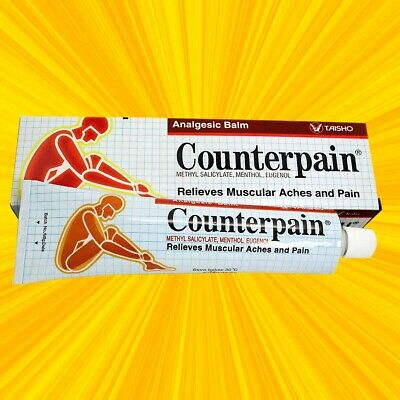 120 g baume analgèsique counterpain chaud / 120 g Counterpain Analgesic Balm Hot