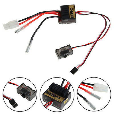New 320A Brush Speed Controller ESC 1/8 1/10 1:10 Reverse For RC Car Boat Truck