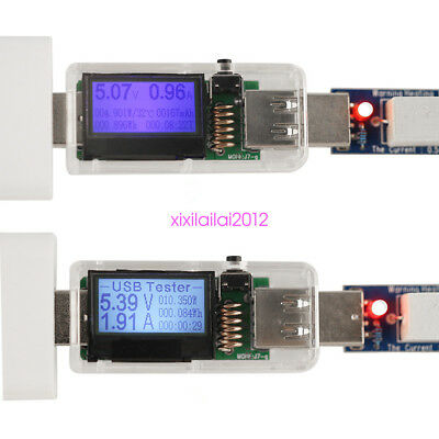 12 in 1 USB Tester DC Current Meters Digital Voltmeter Voltage Detector High Q