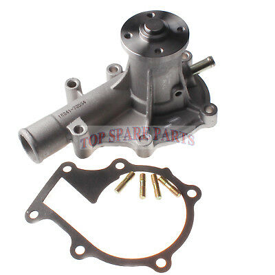 58mm Water Pump 16241-73034 for Kubota Engine V1505 D1105 D905 Bobcat Skid Steer