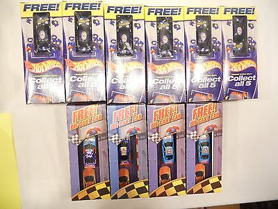 Hot Wheels Limited Edition Cars, Free,  Pop-Secret, 2003 General Mills,lot Of 10