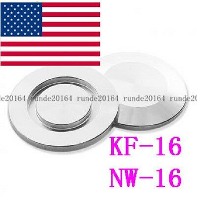 1PC KF-16 Blank Flange, Blind Flange Cap, Vacuum Fitting,Stainless Steel Stopper