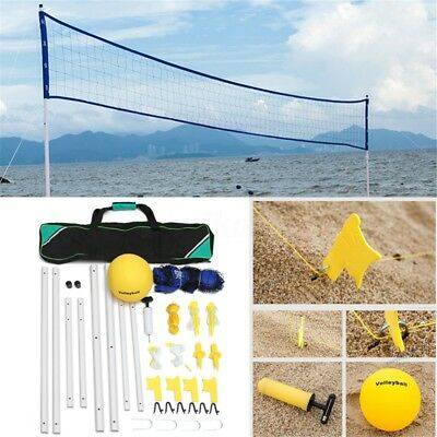 Beach Grassland Volleyball Training Set Net Family Volleyball Pump Storage Bag