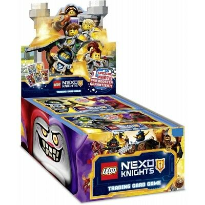 Lego Nexo Knights trading cards - 1 Box of 24 packets (120 random cards)