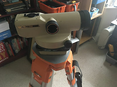 Pentax Dumpy Auto Level Surveying Scope AL-M5C with Stand Tripod Portable