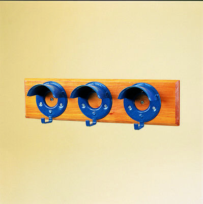 Stubbs Bridle Rack Set Of 3 On Board S203 Blue Tack Room Horse Stable Equipement